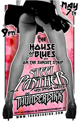 thunderdikk steel panther flyer web