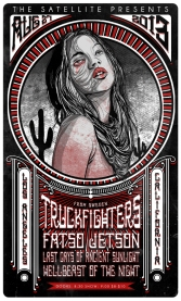 Truckfighthers L.A. show
