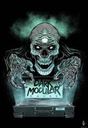 Logo for Dark Modular cases