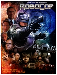 Alternative Robocop Movie Poster