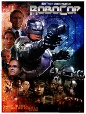 Alternative Robocop Movie Poster