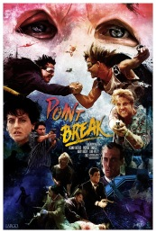 Reimagined Point Break Movie Poster