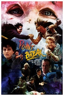 Reimagined Point Break Movie Poster